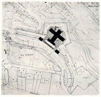 Soutěžní návrh na Krematorium v Praze-Vyšehradě - III. cena - foto: archiv redakce