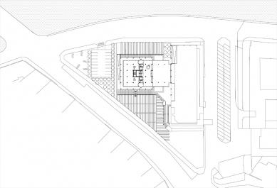 Rekonstrukce a dostavba BCB Pilsen - Situace - foto: 4A architekti