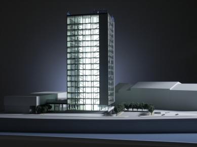 Rekonstrukce a dostavba BCB Pilsen - Model - foto: 4A architekti