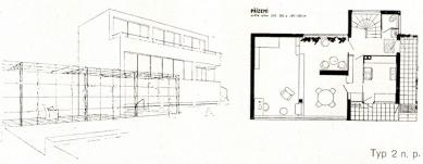 Zastavovací plán a vily pro zahradní čtvrť v Praze-Barrandově - foto: archiv redakce
