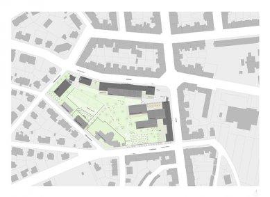 Architektonická studie FaVU a FA VUT - Širší vztahy - foto: © fam architekti, 2007