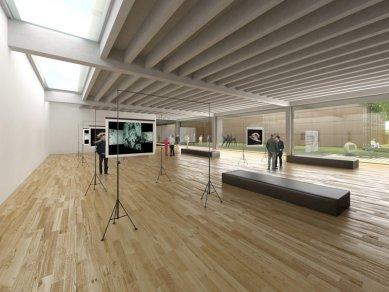 Architektonická studie FaVU a FA VUT - Společný výstavní prostor - foto: © fam architekti, 2007