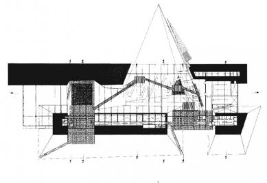 BUGA - Bundesgartenschau 2001 - Půdorys patra - foto: © Barkow Leibinger Architects