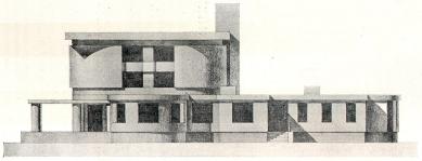 Městské krematorium v Nymburku - Boční fasáda - foto: archiv redakce