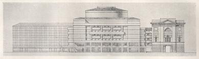 Soutěžní návrh na nové divadlo v Praze - foto: archiv redakce