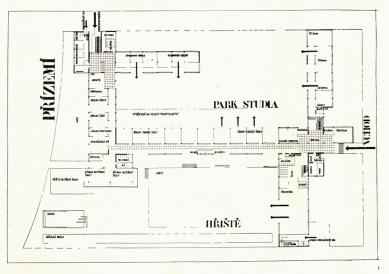 Francouzské školy - Půdorys přízemí - foto: archiv redakce
