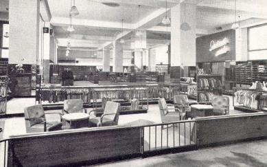 Interiéry obchodního domu Bílá labuť - foto: archiv redakce