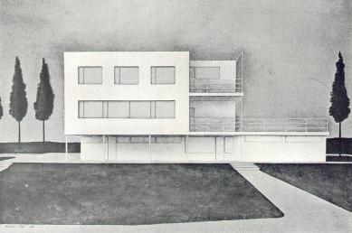 Vila v Bílovicích - Vizualizace čelní fasády - foto: archiv redakce