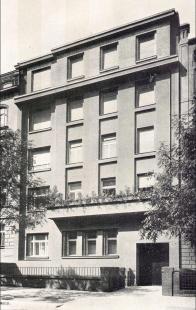 Nájemní dům architekta Františka Strnada - foto: archiv redakce