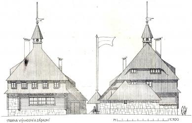 Masarykova chata v Orlických horách - foto: archiv redakce
