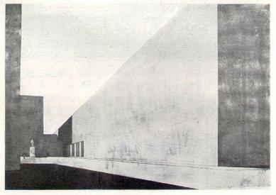 Projekt budovy parlametu na Letné - foto: archiv redakce