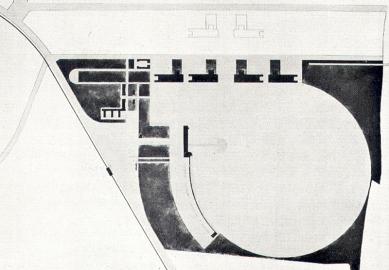 Soutěžní návrh letiště v Praze-Ruzyni - Situace - foto: archiv redakce