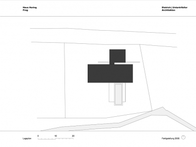 Rodinný dům v Lipanech - Situace - foto: © dietrich | untertrifaller architekten