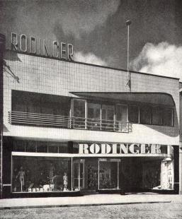Obchodní dům Rodinger - foto: F.Illek - A.Paul, archiv redakce