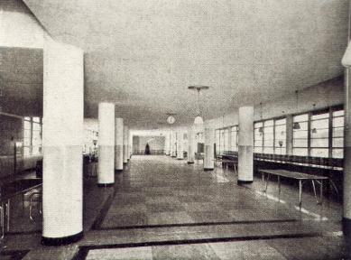 Správní budova Baťových závodů  - Konferenční místnost v 15. patře - foto: Bruner-Dvořák, Praha / archiv redakce