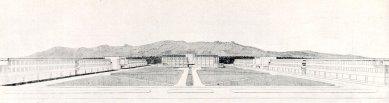 Společenský dům a internát - Perspektiva - foto: archiv redakce