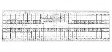 Společenský dům - Půdorys čtvrtého patra - foto: archiv redakce