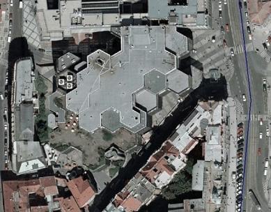 Obchodní dům Kotva - foto: GIS server Hlavního města Prahy
