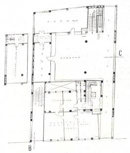 Soutěžní projekt Pragoradia a ČTK - Půdorys přízemí - foto: archiv redakce