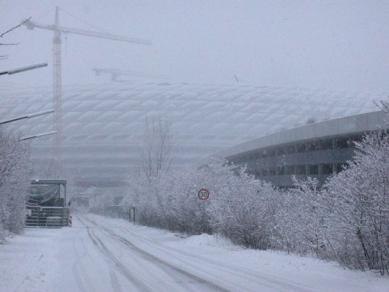 Allianz Arena - foto: Lucie Šmídková, 19.12.2004