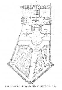 Vila Kovařovic - Situace - foto: archiv redakce