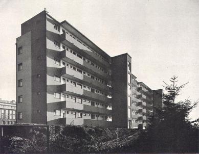Obytné domy pro chudé obce pražské v Libni - foto: F. Illek - A. Paul, Praha / archiv redakce