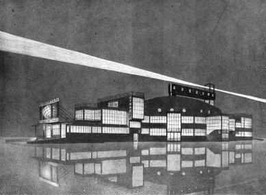 Projekt Osvobozeného divadla - Noční perspektiva - foto: archiv redakce