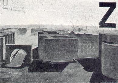 Ideová soutěž na výstupnou komunikaci Petřínskou - Pohled k Mostu Legií - foto: archiv redakce
