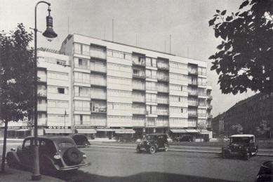 Domy Zemské banky - Skleněný palác - foto: archiv redakce