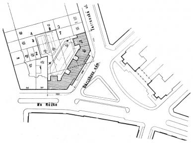 Domy Zemské banky - Skleněný palác - Situace domu - foto: archiv redakce