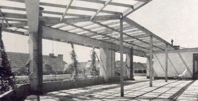 Domy Zemské banky - Skleněný palác - Střešní terasa - foto: archiv redakce
