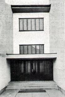 Mateřská škola v Brně-Husovicích - Pohled na vstup - foto: archiv redakce