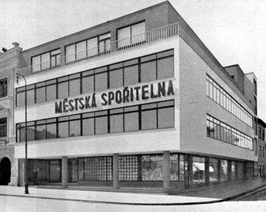Městská spořitelna v Třebíči - foto: archiv redakce