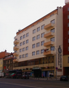 Hotel Passage (Slovan) - foto: © archiweb.cz, 2005