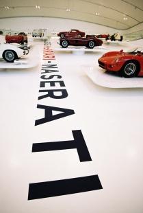 Enzo Ferrari Museum - foto: Pavel Barták, 2013