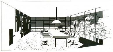 Ingstav - Perspektiva interiéru - foto: archiv Prof. Ivana Rullera
