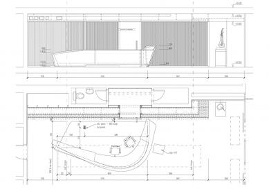 Vstupní hala PRE - Recepce - foto: S.H.S architekti