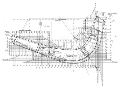 Vstupní hala PRE - Recepční pult - foto: S.H.S architekti