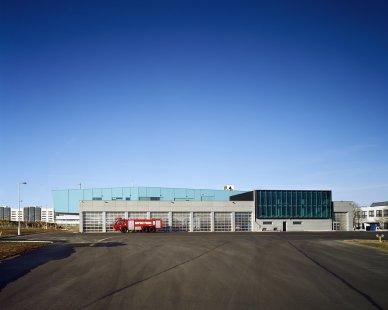 Centrální požární stanice Letiště Praha - foto: Filip Šlapal