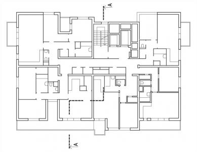 Bytový dům Maják - 5NP - foto: S.H.S architekti