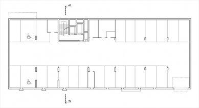 Bytový dům Maják - 1PP - foto: S.H.S architekti