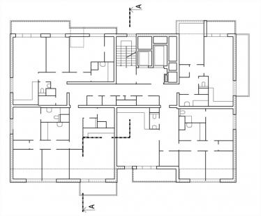 Bytový dům Maják - 4NP - foto: S.H.S architekti