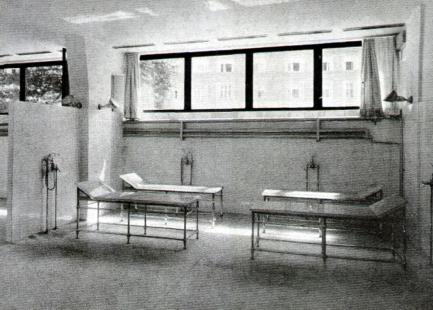 Městské lázně - Odpočívárna v parních lázních - foto: archiv redakce