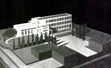 Obecná a měšťanská Škola v Brně-Masarykově čtvrti - Model - foto: archiv redakce
