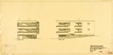 Tesařova vila - Pohledy - foto: Kopie originálních plánů architekta Fuchse byly poskytnuty Muzeem města Brna