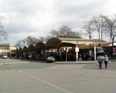 Autobusové nádraží - Současný stav - foto: © archiweb.cz, 2005