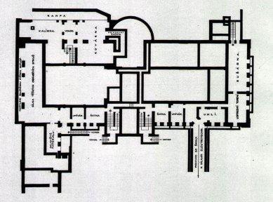 Zemská průmyslová škola - Suterén - foto: archiv redakce