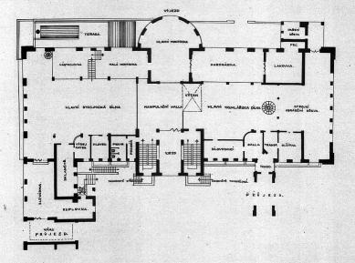 Zemská průmyslová škola - 1NP - foto: archiv redakce