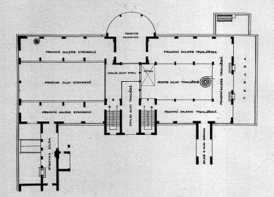 Zemská průmyslová škola - 2NP - foto: archiv redakce
