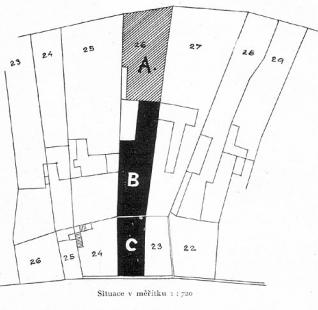 Přestavba velkoobchodu Pavla Gellnera - Situace - foto: archiv redakce